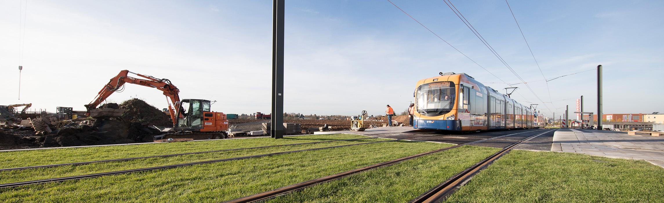 Mobilität Bahnstadt Heidelberg