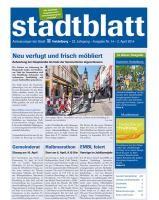 Titelbild des Stadtblatts Nr. 14 vom 2. April 2014