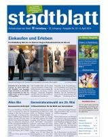 Titelbild des Stadtblatts Nr. 15 vom 9. April 2014
