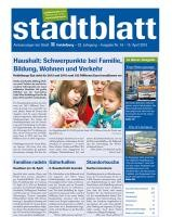 Titelbild des Stadtblatts Nr. 16 vom 15. April 2015