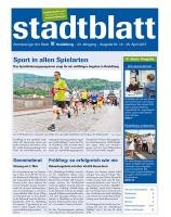 Titelbild des Stadtblatts Nr. 18 vom 29. April 2015