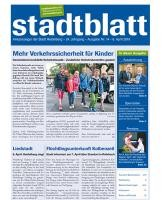Titelbild des Stadtblatts Nr. 14 vom 6. April 2016