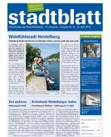 Titelbild des Stadtblatts Nr. 15 vom 13. April 2016
