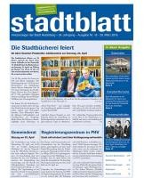 Titelbild des Stadtblatts Nr. 16 vom 20. April 2016