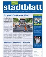 Titelbild des Stadtblatts Nr. 17 vom 27. April 2016