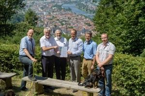 Heidelberg receives 'recreational forest' certification (Photo: Rothe)