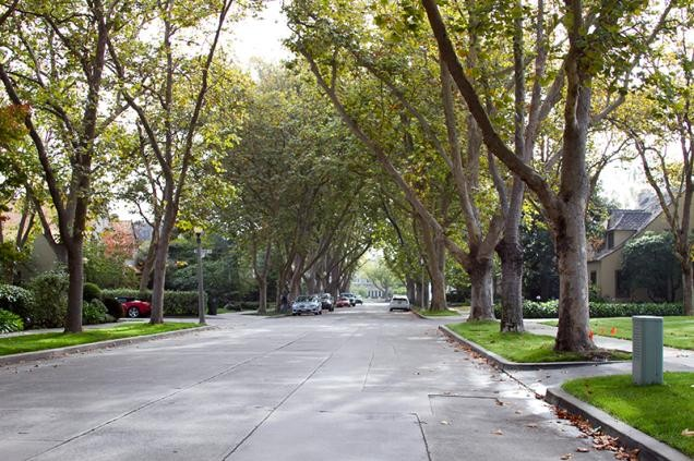Wohngebiet in Palo Alto (Foto: City of Palo Alto)
