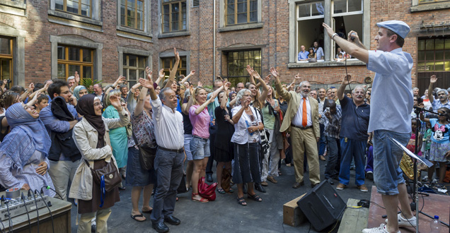 Opening of the Intercultural Center (Photo: Rothe)