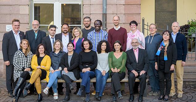 Der neue Heidelberger Migrationsbeirat (Foto: Rothe)
