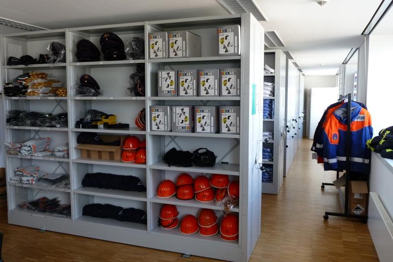 Feuerwehr Heidelberg Kleiderkammer