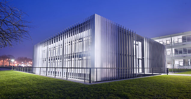 The 7-Tesla building in the Technology Park. (Photo: DKFZ)