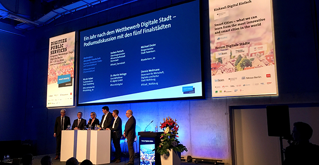 Smart Country Convention in Berlin (Foto: Stadt Heidelberg)