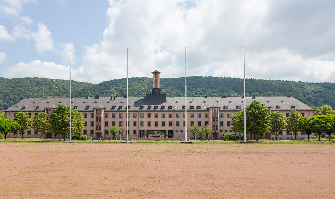 Campbell Barracks mit Torhaus (Foto: Diemer)