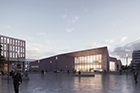 design of the new convention center (picture: DEGELO Architekten)