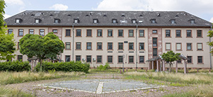 Gebäude Campbell Barracks (Foto: Diemer)