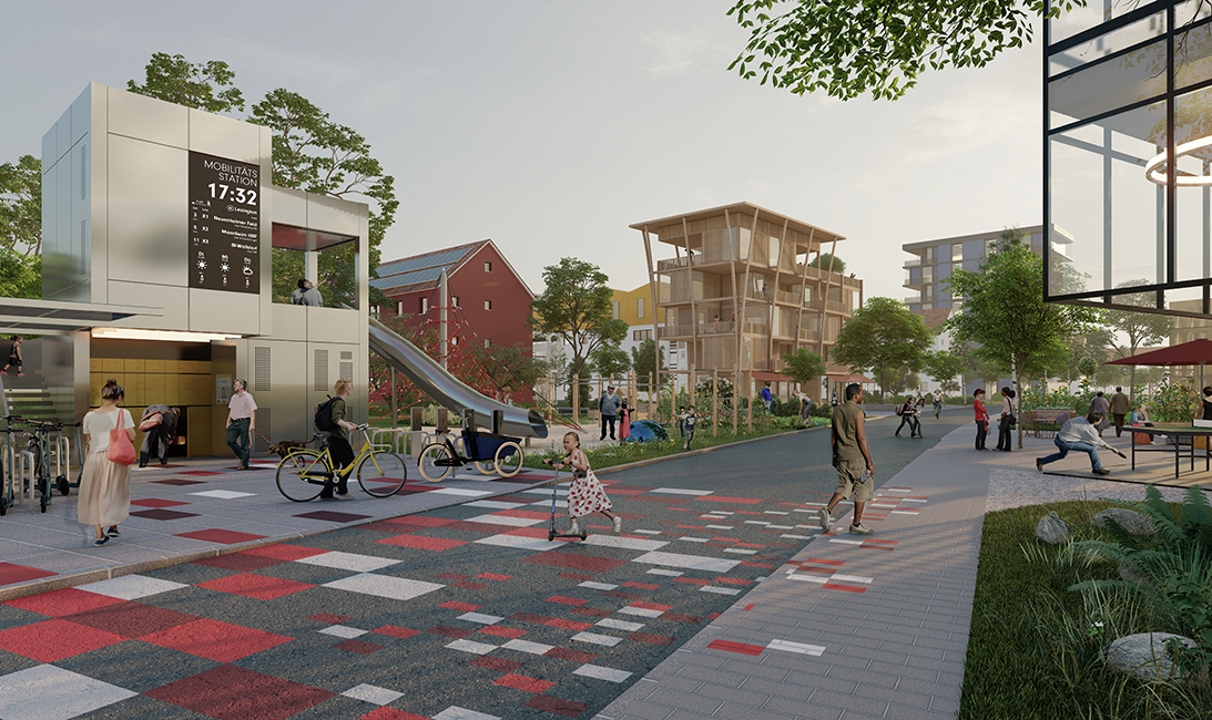 Visualisierung Patrick-Henry-Village (KCAP Architects Planners)